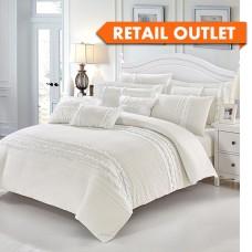 Charlotte 7 Piece Duvet Cover Set Retail Outlet