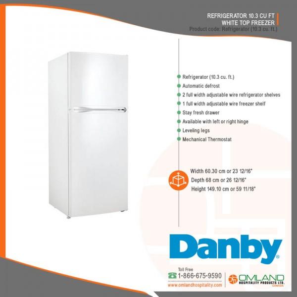 Refrigerator (10 3 cu  ft )