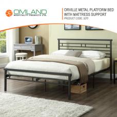 d53d14c3cf0 Orville Metal Platform Bed with Mattress Support 5270