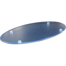 Amenity Tray Oval Frosted