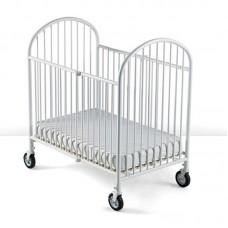 Heavy Duty Steel Folding Crib Compact Size