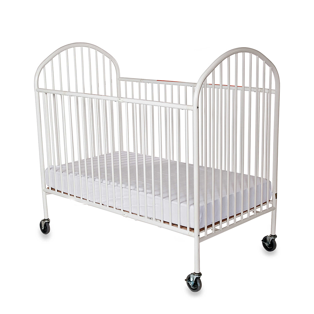 size baby steel folding com crib pinnacle full foundations white amazon dp