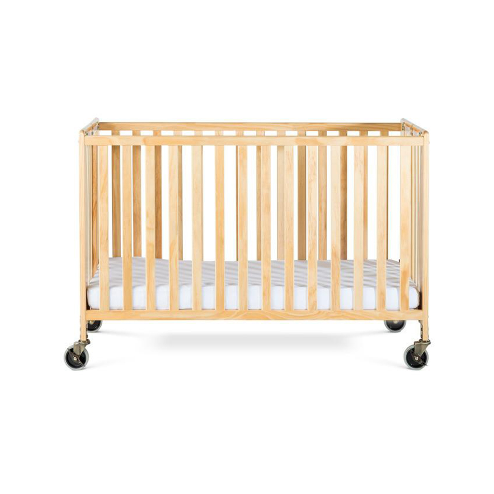 heavy crib steel included not folding duty mattress size full