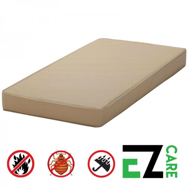 Ez care mattress waterproof bed bug proof fireproof anti for Bed bug resistant mattress