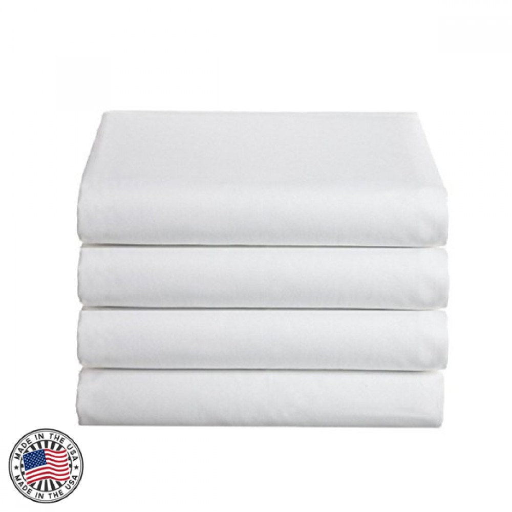 Spa And Massage Essential Flat Sheets Made In USA