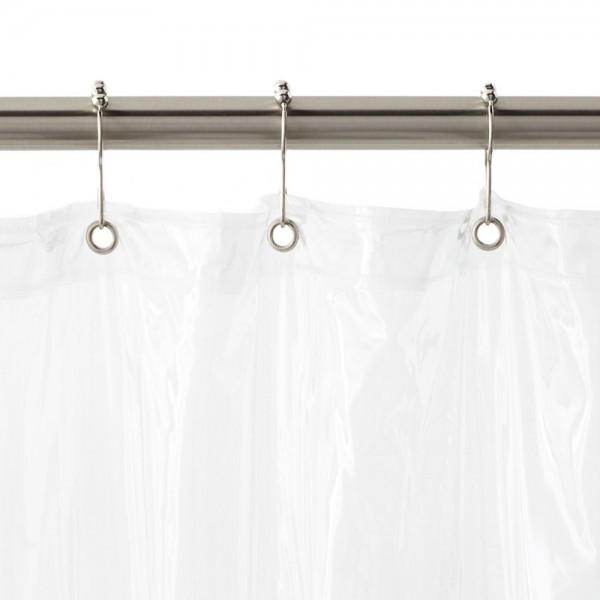 Vinyl Shower Curtains With Metal Grommets Curtain Menzilperde Net